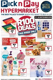 Pick n Pay Hypermarket R100 Deals
