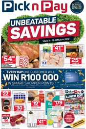 Find Specials || Western Cape Pick n Pay Unbeatable Savings