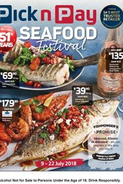Find Specials || Western Cape Pick n Pay Seafood Festival