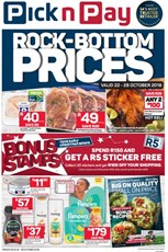 Find Specials || Western Cape PnP Rock Bottom Prices