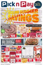 Find Specials || Western Cape Pick n Pay Sizzling Saving