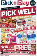 Find Specials || Western Cape Pick n Pay Christmas Deals