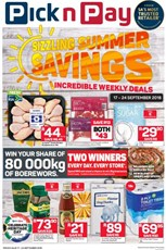Find Specials || Western Cape Pick n Pay Sizzling Summer Specials
