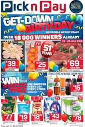 Find Specials || KZN Pick n Pay Birthday Promotion