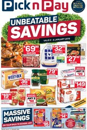 Find Specials || KZN Pick n Pay Unbeatable Savings