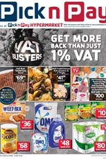 Find Specials || KZN Pick n Pay VAT Busters Deals