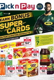 PnP Bonus Rugby Super Cards