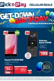 Find Specials || Pick n Pay Cellular Specials