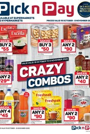 Find Specials || Pick n Pay - Crazy Combo