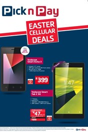 Pick n Pay Easter Cellular Deals