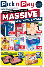 Find Specials || EC PnP Month End Savings