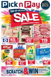 Find Specials || Eastern Cape Pick n Pay End of Season Specials