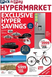 Find Specials || Exclusive Pick n Pay Hypermarket Savings