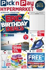 Find Specials || PnP Hypermarket Epic Birthday Deals