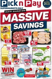 Find Specials || Inland PnP Massive Savings Promotion