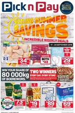 Find Specials || Inland Pick n Pay Sizzling Summer Savings