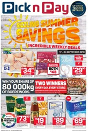Inland Pick n Pay Sizzling Summer Savings