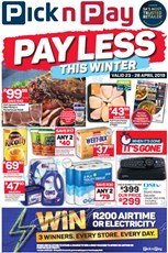 Find Specials || PnP Inland Pay Less This Winter Deals