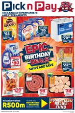 Find Specials || KZN PnP Epic Birthday Celebrations Deals