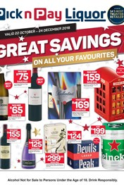 Find Specials || Pick n Pay Liquor Savings
