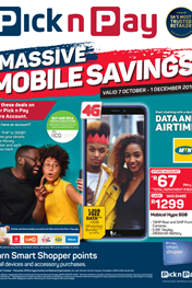 Pick n Pay Massive Mobile Sale