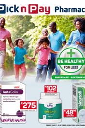 PnP Pharmacy Deals