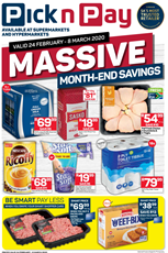 Find Specials || WC PnP Month End Savings