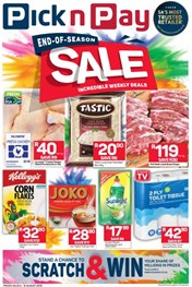 Find Specials || Western Cape Pick n Pay End Of Season Specials