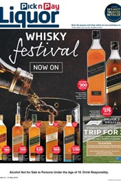 Find Specials || Pick n Pay Whisky Savings