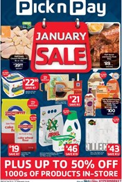 Find Specials || PnP January Sale Deals