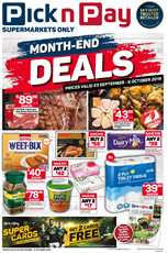 Find Specials || KZN PnP Month End Savings
