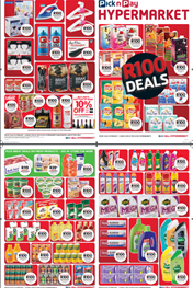 Find Specials || Western Cape R100 Deals Pick n Pay
