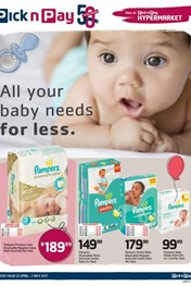 Pick n Pay Baby Promotions