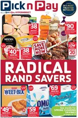Find Specials || Pick n Pay Radical Savings Deals