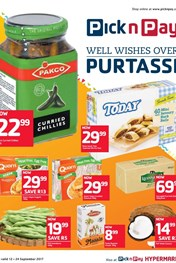 Western Cape Pick n Pay Well Wishes Over Purtassi