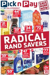 Western Cape Pick n Pay Radical Rand Savers Promotion