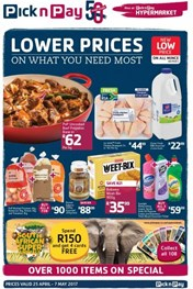 Western Cape Pick n Pay Specials
