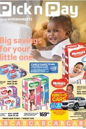 Pick n Pay Baby Promotion