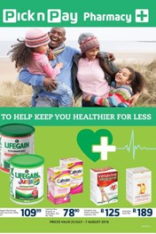 Pick n Pay Pharmacy Promotions