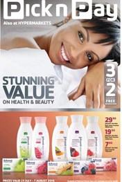 Pick n Pay Health and Beauty Promotion
