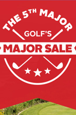 Find Specials || 5th Major Golf Sale