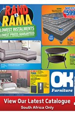 Find Specials || OK Furniture Rand a Rama Specials