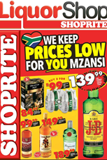 Find Specials || Eastern Cape Liquor Deals from Shoprite