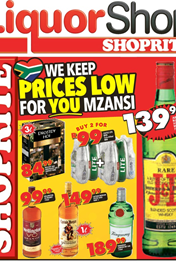 Find Specials || Free State, Northern Cape Liquor Deals from Shoprite