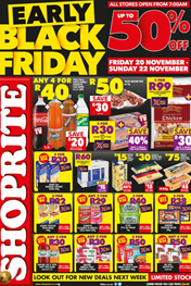 Find Specials || Shoprite Black Friday Catalogue