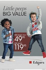 Find Specials || Edgars Kids Clothing Specials