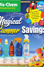 Find Specials || Dis-Chem Summer Deals