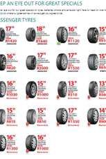 Find Specials || Supa Quick Tyre Specials