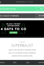 Find Specials || Superbalist Black Friday Deals