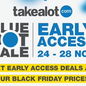 Takealot Early Access Blue Dot-Black Friday Sale